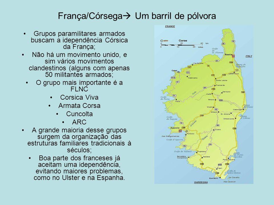 França/Córsega Um barril de pólvora