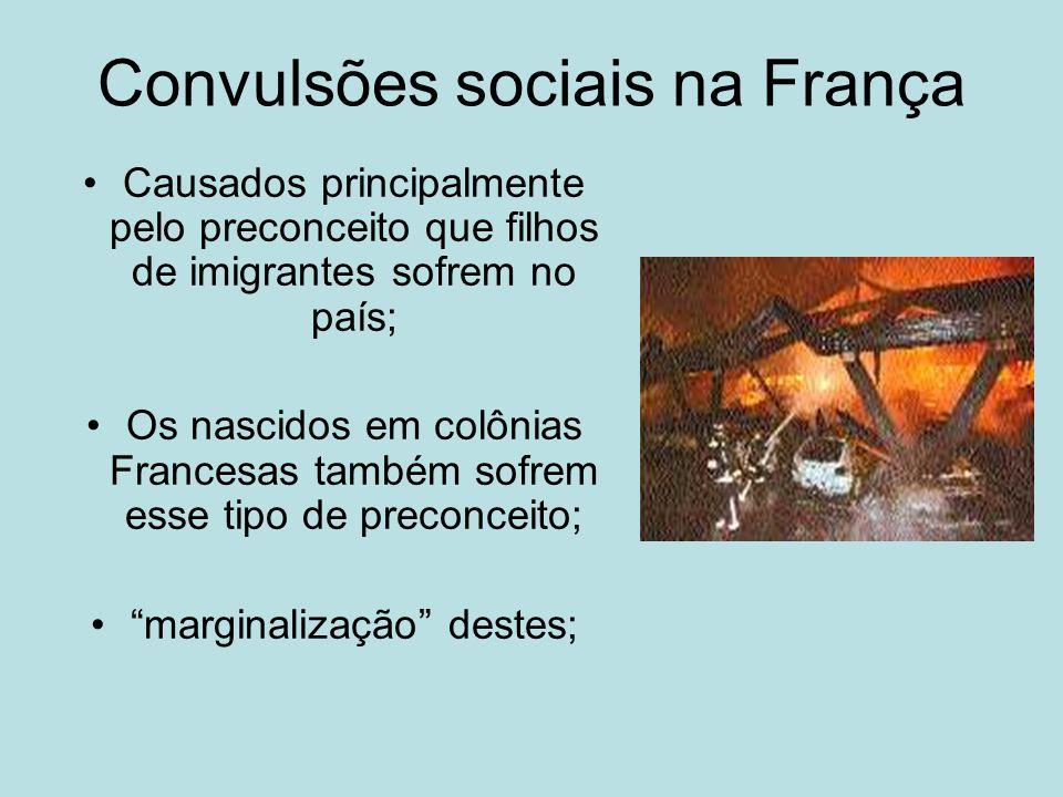 Convulsões sociais na França