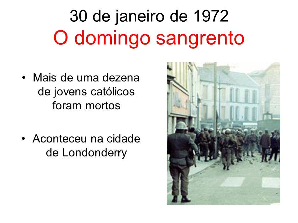 30 de janeiro de 1972 O domingo sangrento