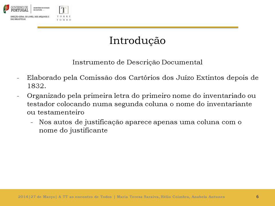 Instrumento de Descrição Documental