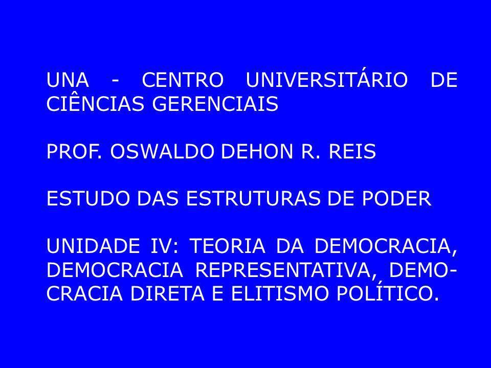 UNA - CENTRO UNIVERSITÁRIO DE CIÊNCIAS GERENCIAIS