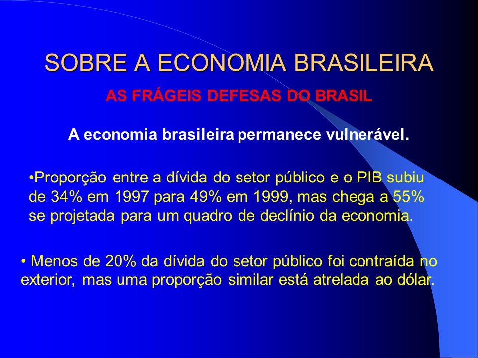SOBRE A ECONOMIA BRASILEIRA