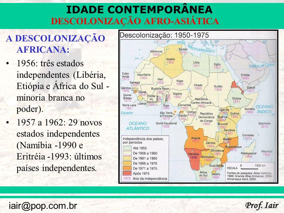 A DESCOLONIZAÇÃO AFRICANA: