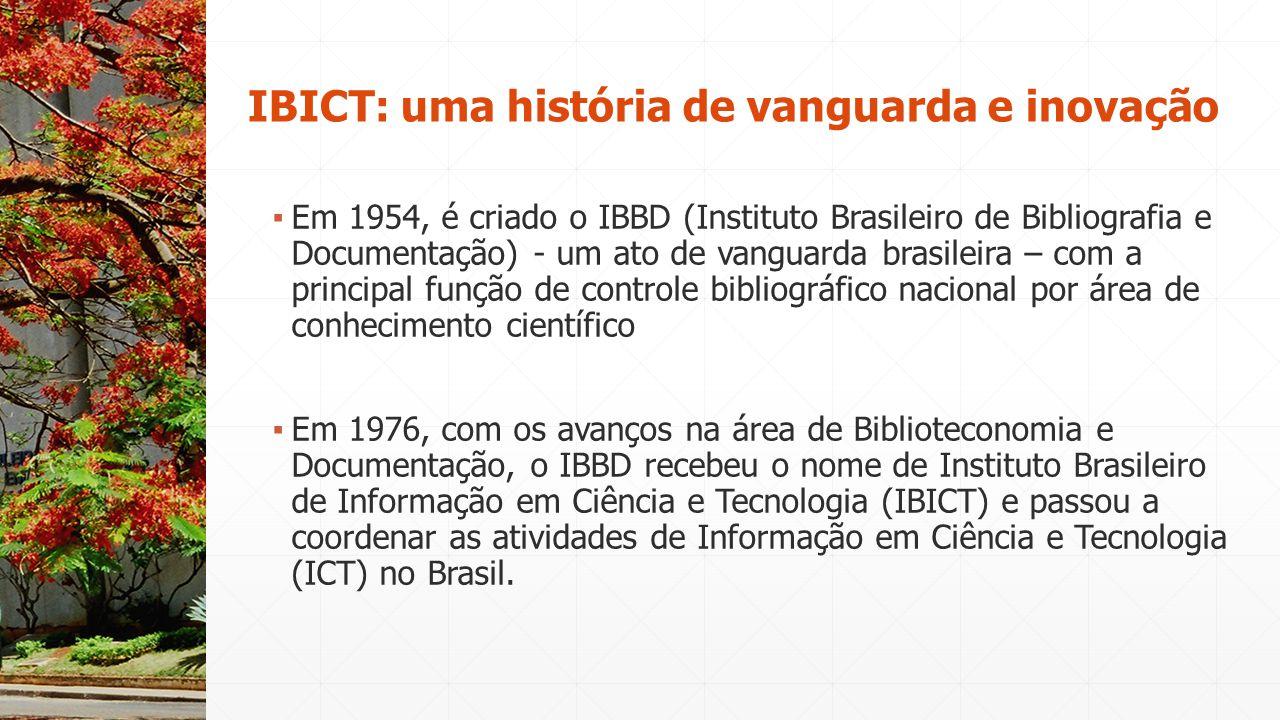 IBICT: uma história de vanguarda e inovação
