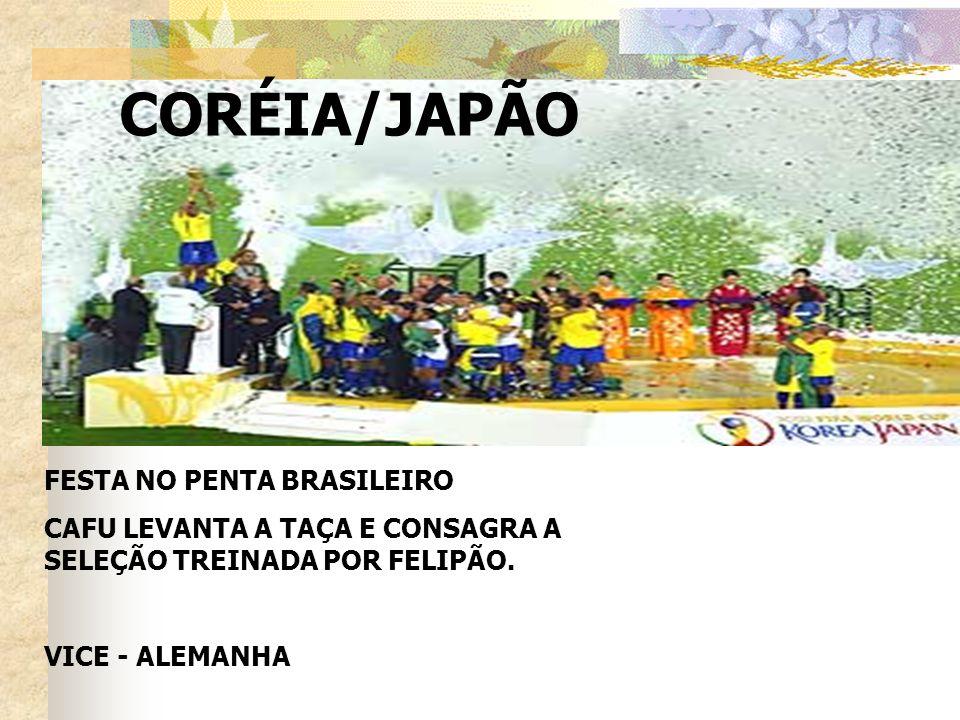 CORÉIA/JAPÃO FESTA NO PENTA BRASILEIRO