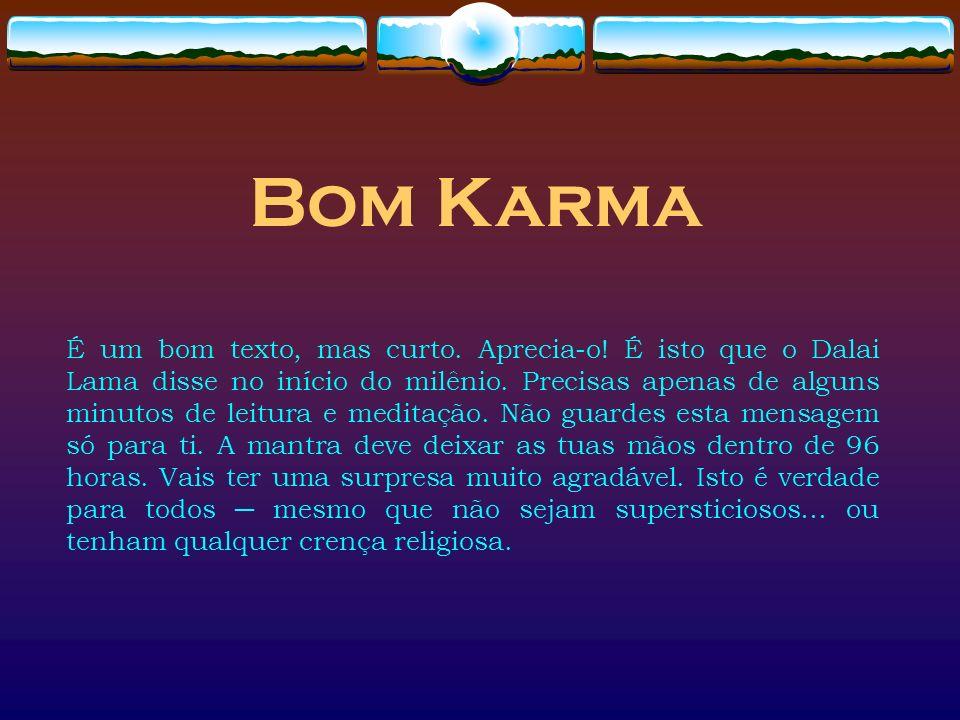 Bom Karma