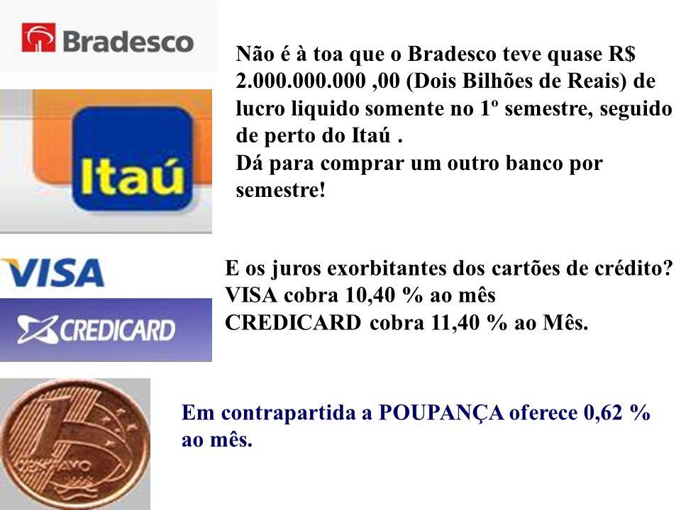 Não é à toa que o Bradesco teve quase R$ 2. 000. 000