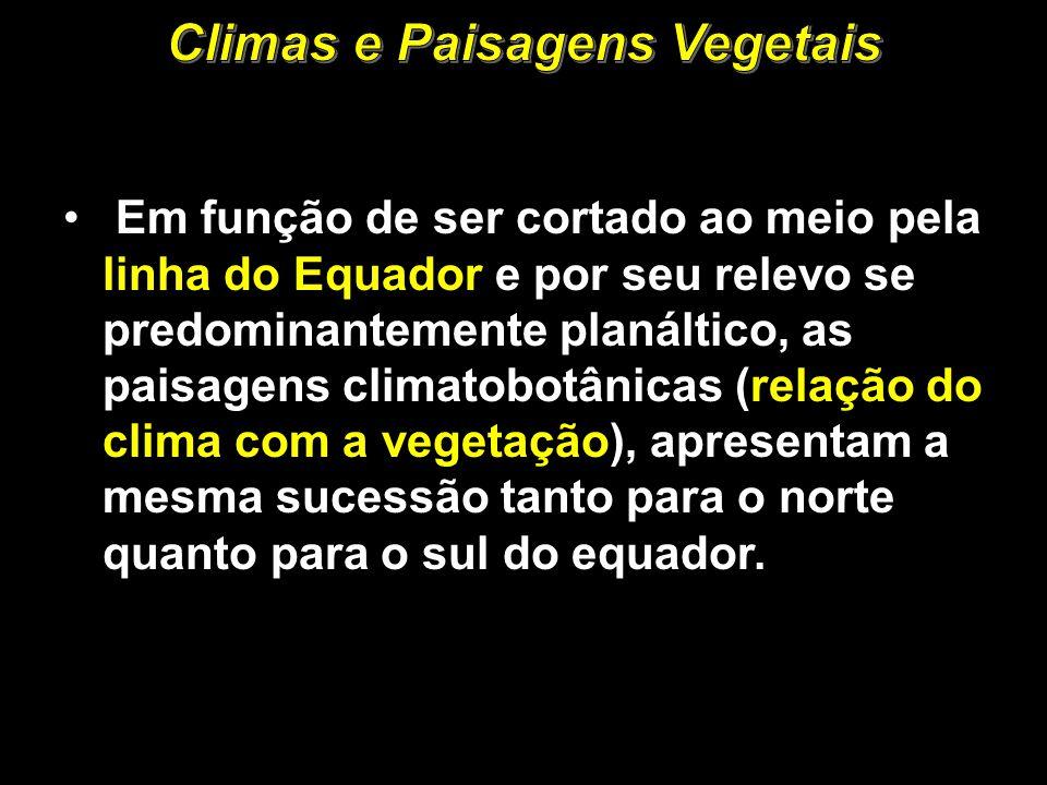 Climas e Paisagens Vegetais
