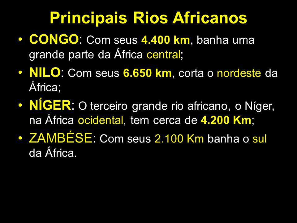 Principais Rios Africanos