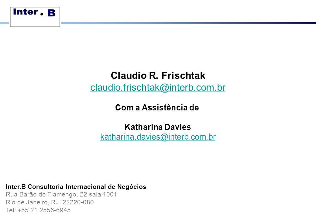 Claudio R. Frischtak claudio.frischtak@interb.com.br