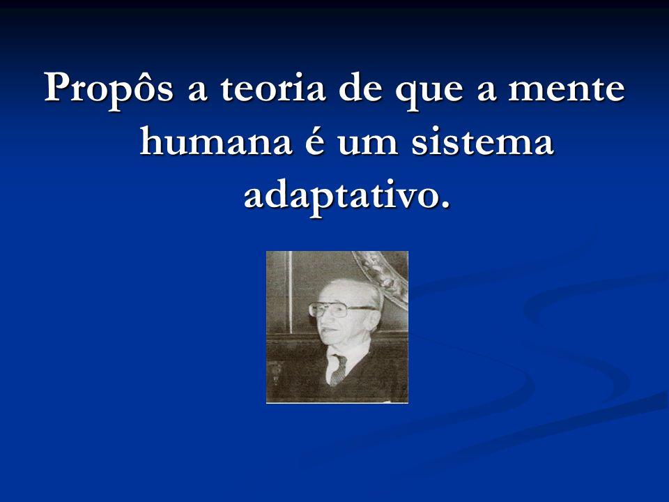 Propôs a teoria de que a mente humana é um sistema adaptativo.