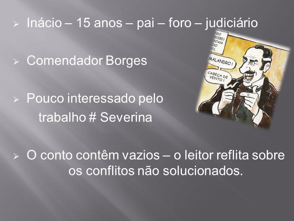 Inácio – 15 anos – pai – foro – judiciário