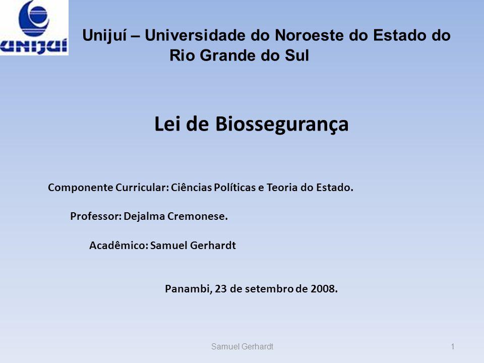 Unijuí – Universidade do Noroeste do Estado do Rio Grande do Sul