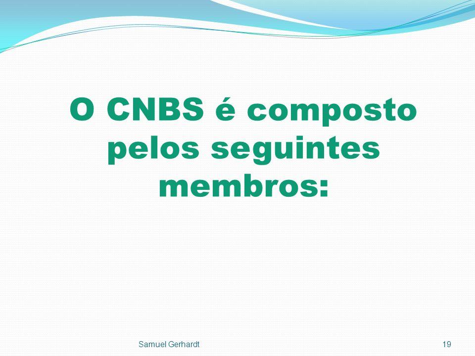 O CNBS é composto pelos seguintes membros:
