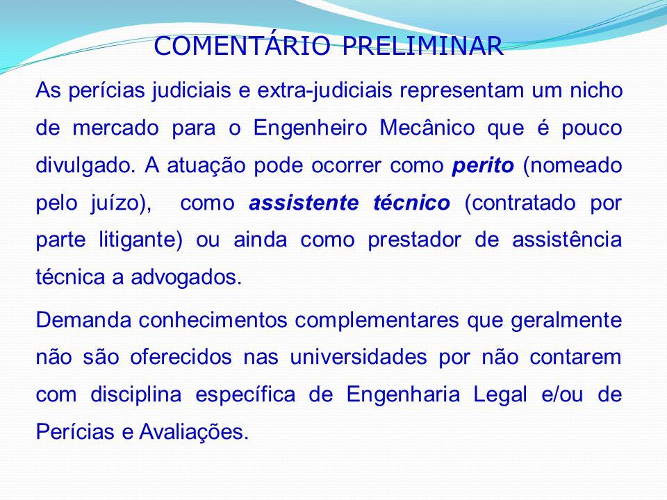 COMENTÁRIO PRELIMINAR