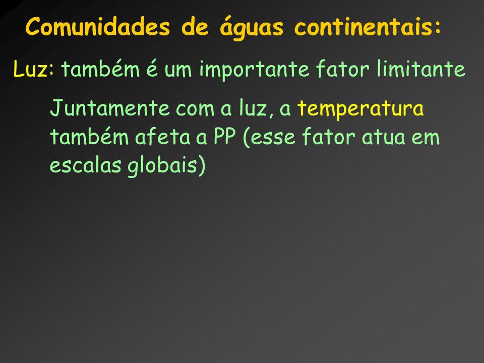 Comunidades de águas continentais: