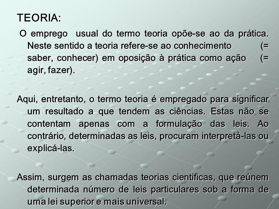 TEORIA: