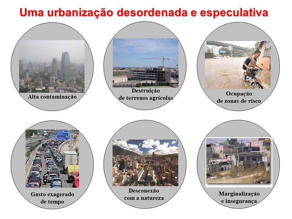 Uma urbanização desordenada e especulativa