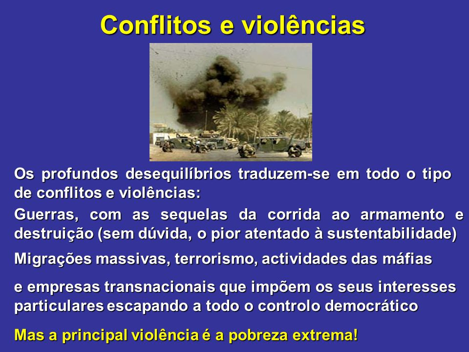 Conflitos e violências