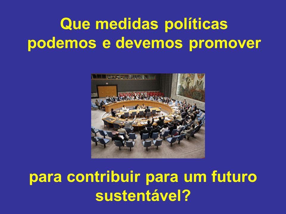 podemos e devemos promover para contribuir para um futuro sustentável