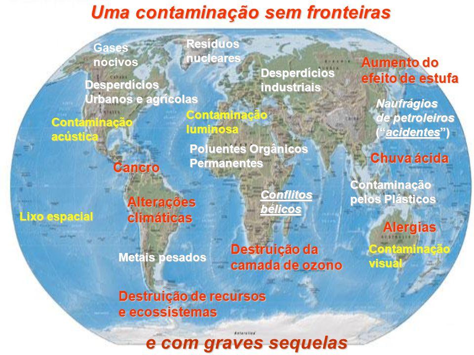Uma contaminação sem fronteiras