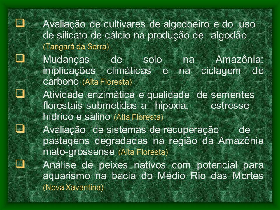 Avaliação de cultivares de algodoeiro e do. uso