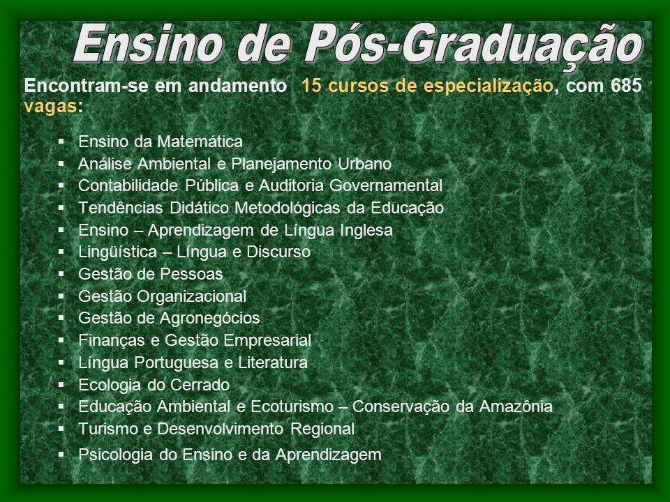 Ensino de Pós-Graduação