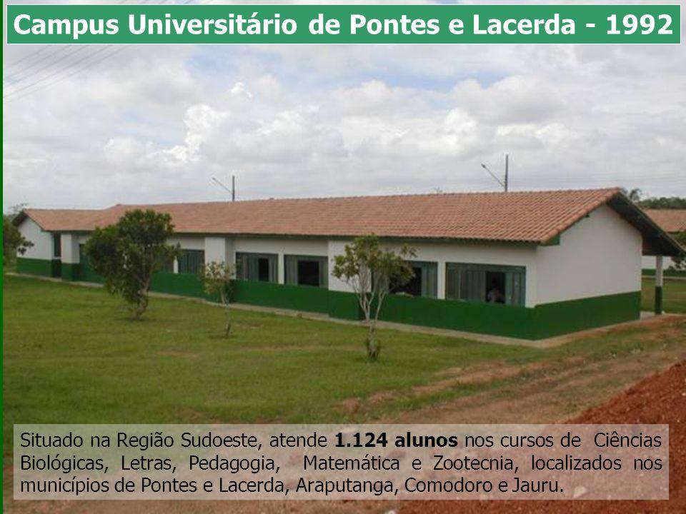 Campus Universitário de Pontes e Lacerda - 1992