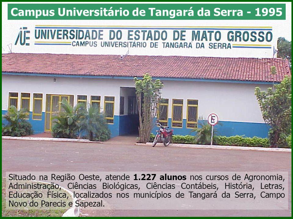 Campus Universitário de Tangará da Serra - 1995