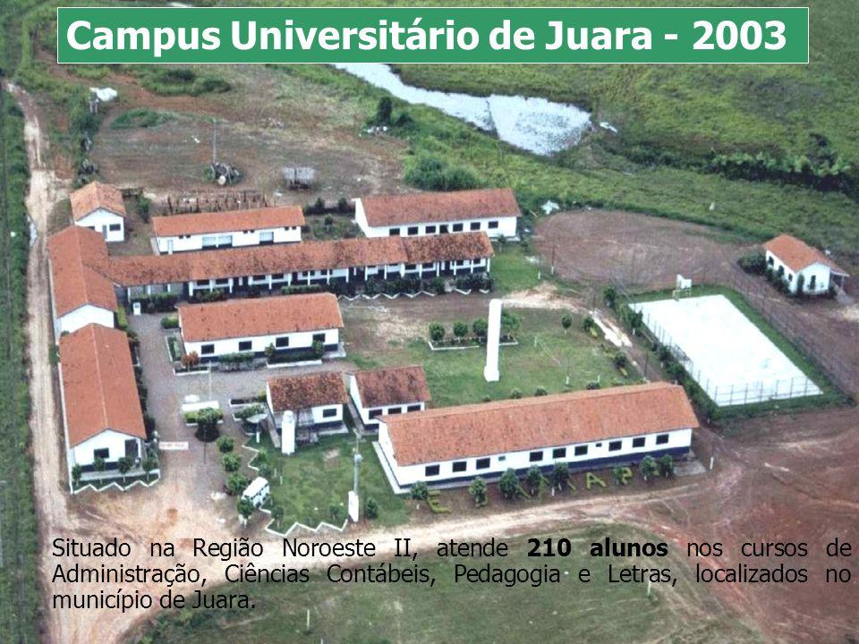 Campus Universitário de Juara - 2003