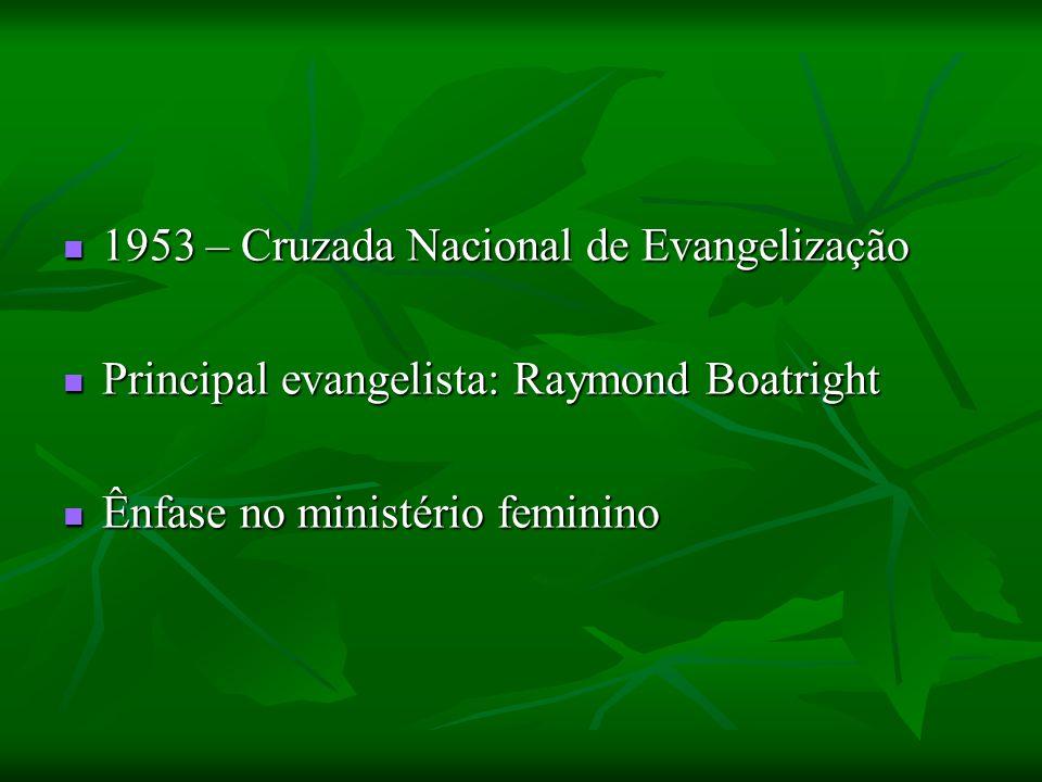 1953 – Cruzada Nacional de Evangelização