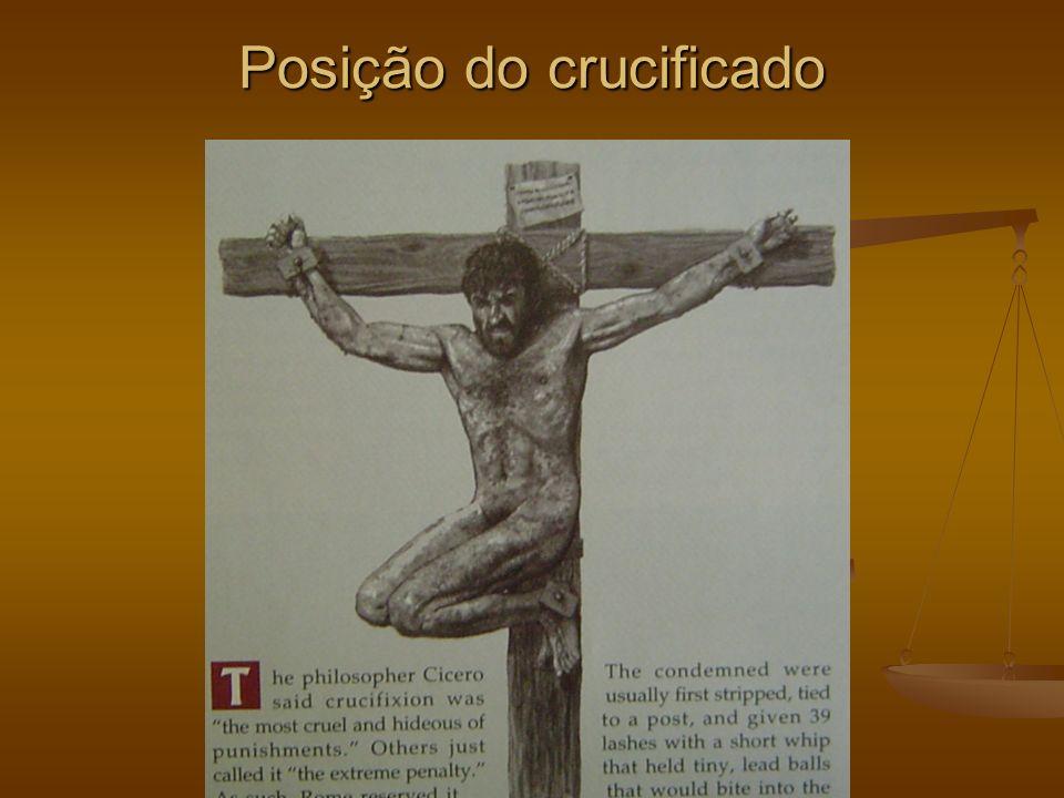 Posição do crucificado