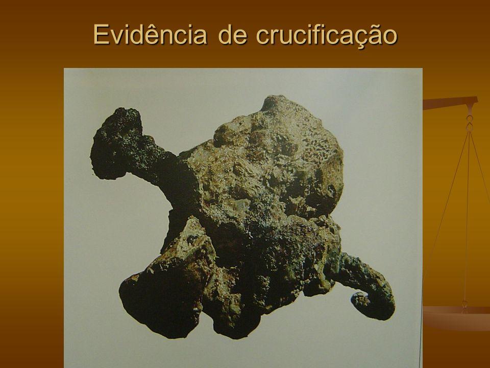 Evidência de crucificação