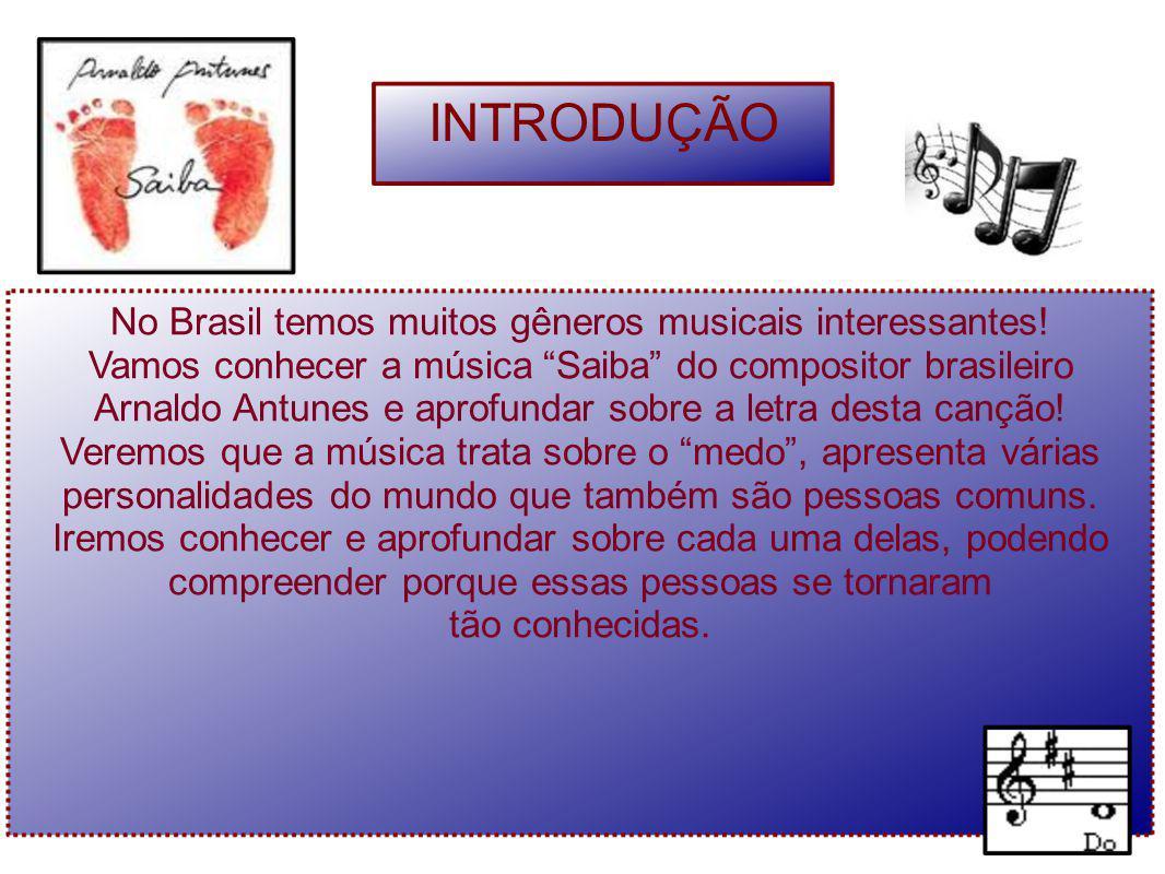 No Brasil temos muitos gêneros musicais interessantes!