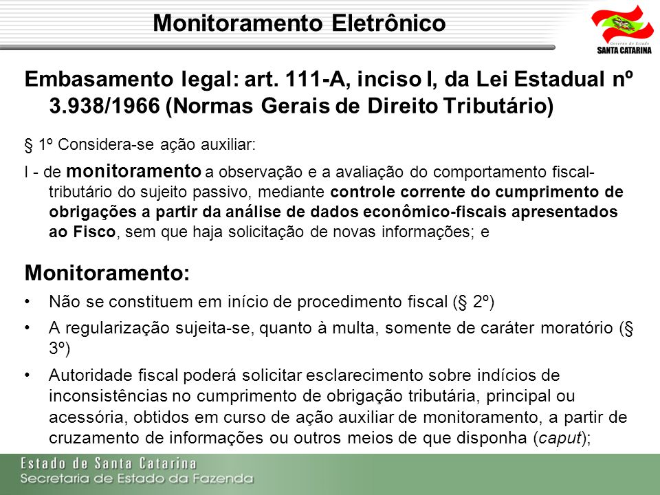 Monitoramento Eletrônico