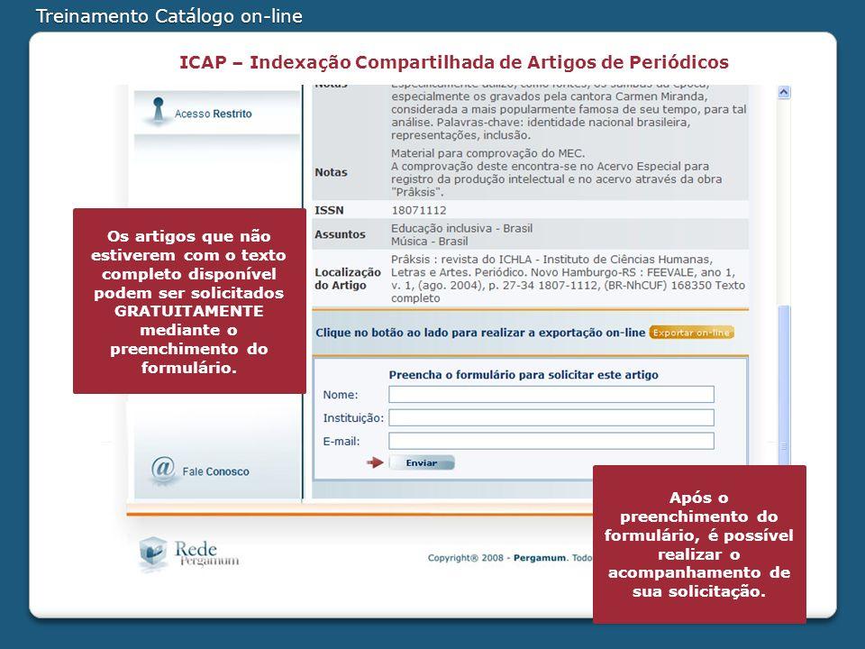 ICAP – Indexação Compartilhada de Artigos de Periódicos