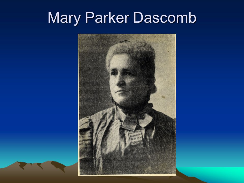 Mary Parker Dascomb