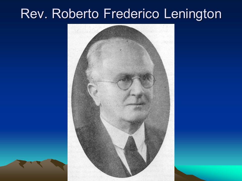 Rev. Roberto Frederico Lenington