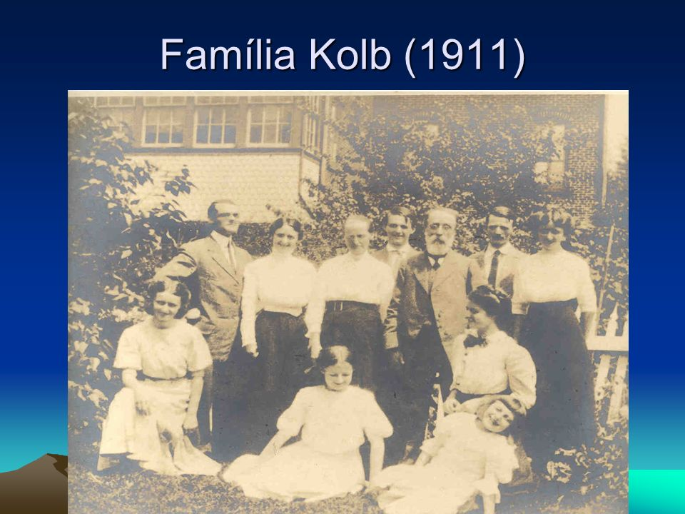 Família Kolb (1911)