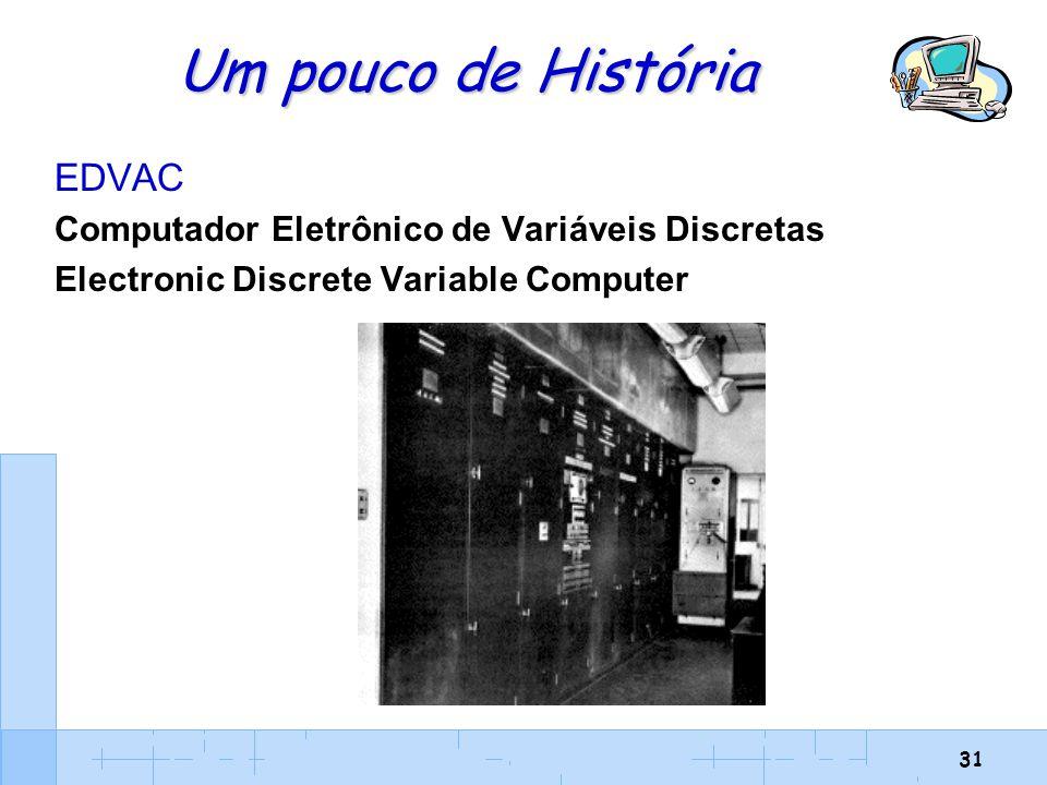 Um pouco de História EDVAC