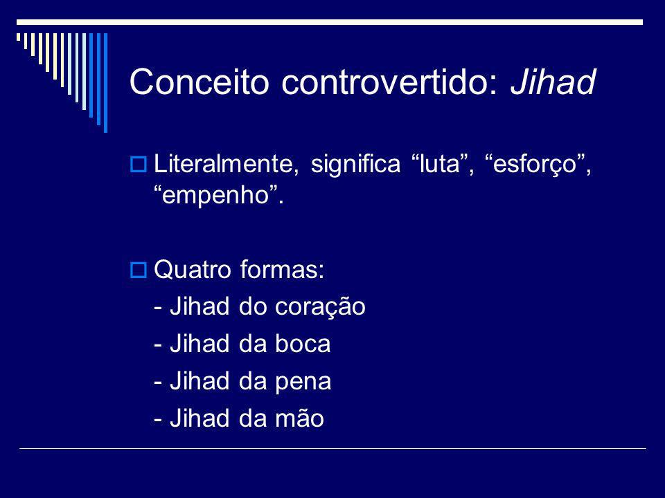 Conceito controvertido: Jihad