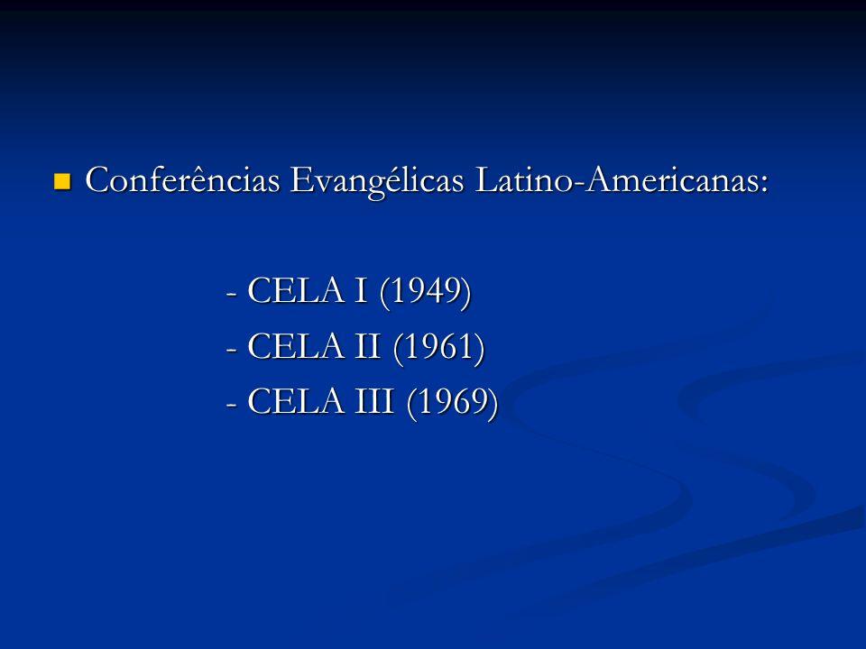 Conferências Evangélicas Latino-Americanas: