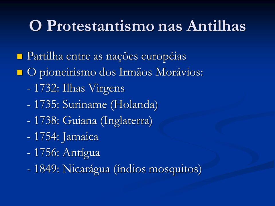 O Protestantismo nas Antilhas