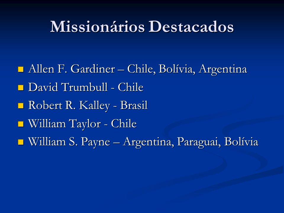 Missionários Destacados