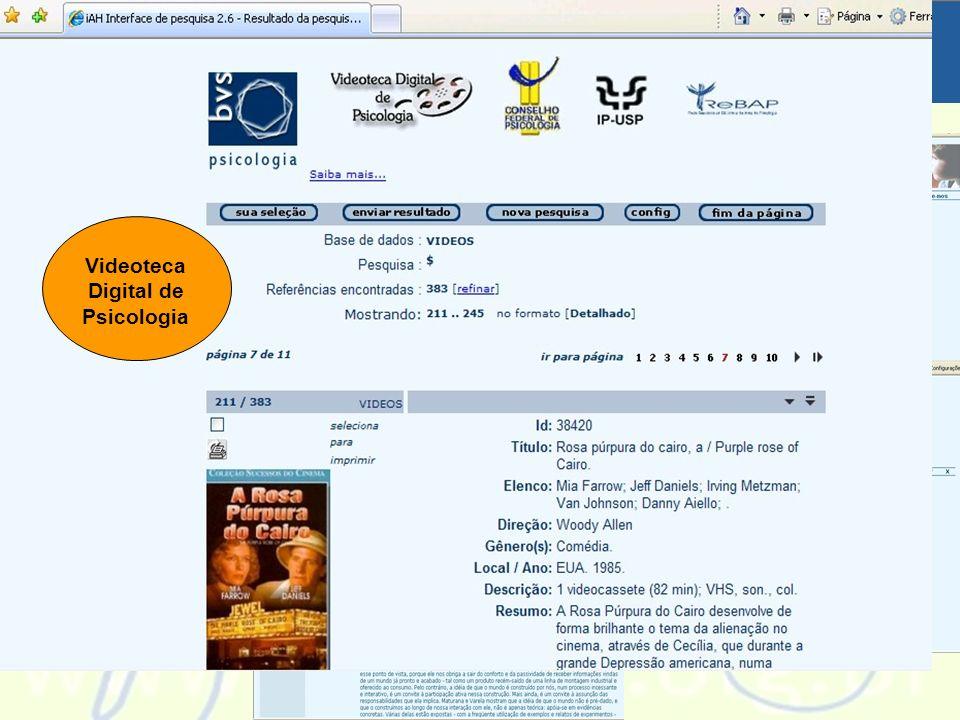 Videoteca Digital de Psicologia