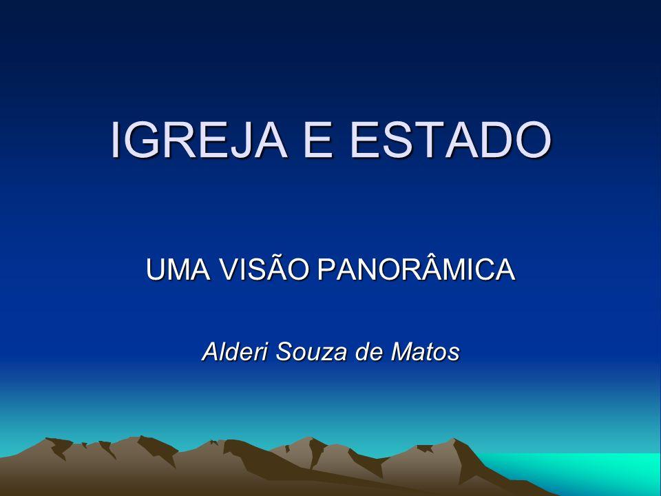 UMA VISÃO PANORÂMICA Alderi Souza de Matos