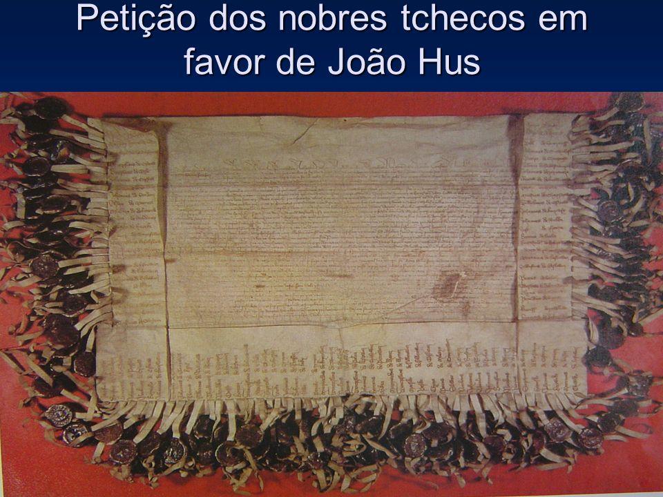 Petição dos nobres tchecos em favor de João Hus