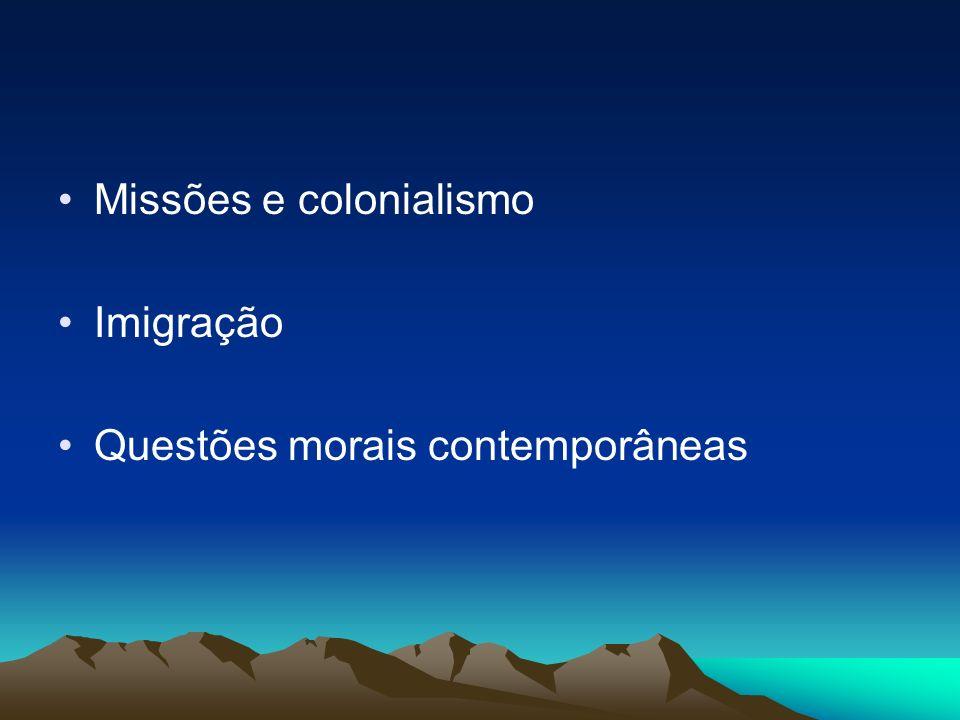 Missões e colonialismo