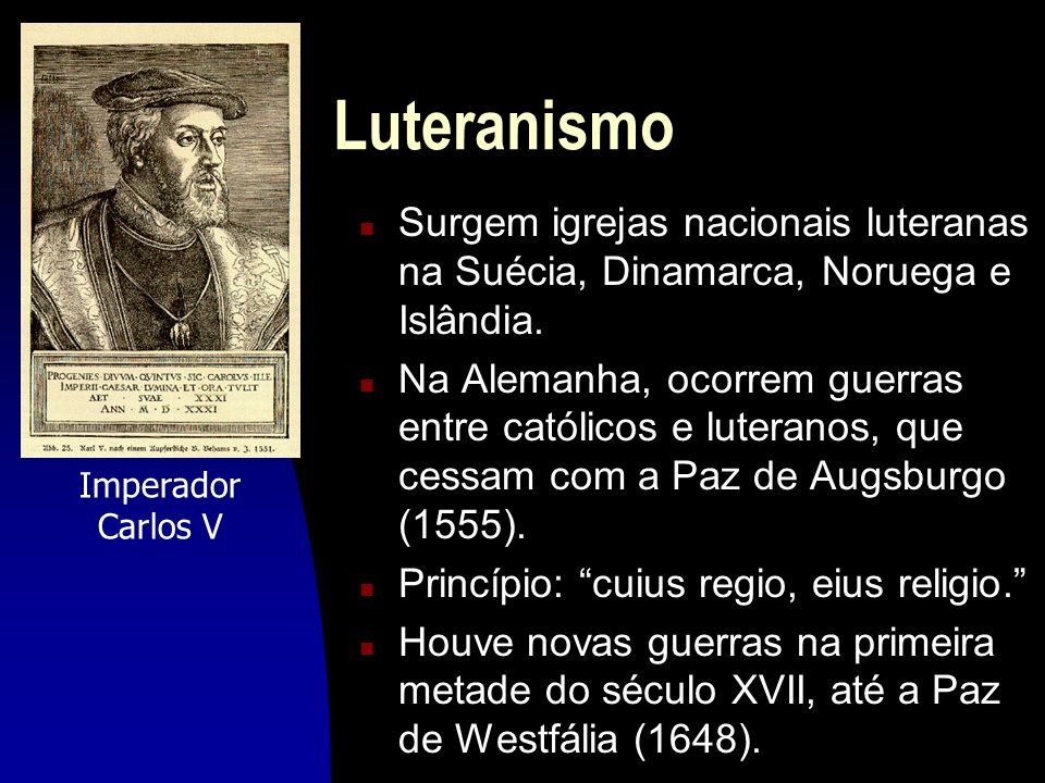 LuteranismoSurgem igrejas nacionais luteranas na Suécia, Dinamarca, Noruega e Islândia.