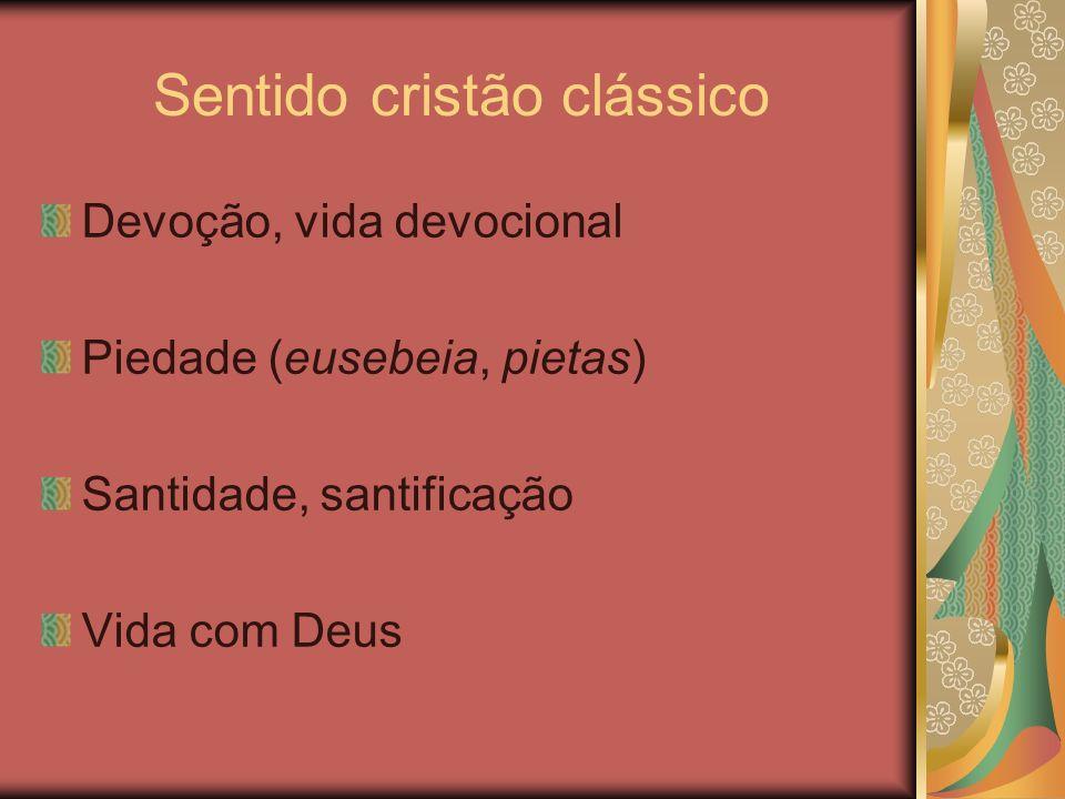 Sentido cristão clássico